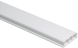 Кабель-канал плинтусный 80х20 L2000 пластик ЭЛЕКОР IEK CKK20-080-020-1-K01 (ИЭК) ИЭК купить по низким ценам