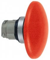 Головка грибовидной кнопки 22мм без подсветки с возвр. красн. SchE ZB4BR416 Schneider Electric черная цена, купить