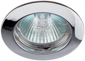 Светильник точечный KL1 50Вт MR16 сатин никель литой | C0043825 ЭРА (Энергия света) SN 12В простой купить в Москве по низкой цене