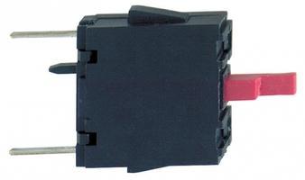 Блок контактов (монтаж. для печатной платы H3) SchE ZBE702 Schneider Electric XB5 НЗ на монтаж цена, купить