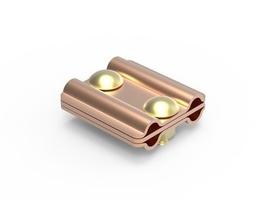 Зажим параллельный с разделительной пластиной D8-10 мм медь NG3107CU DKC, цена, купить