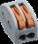Зажим клеммный проходной сечение провода 2.5мм² 32А 400В термопласт Navigator 71289