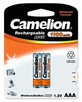 Аккумулятор R03 NI-MN 1100мА.ч BP-2 (блист.2шт) Camelion 7372 купить по оптовой цене