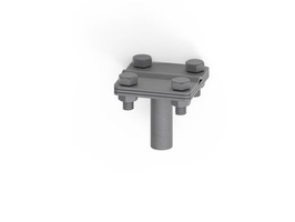 Соединитель вертикального заземлителя 16 мм NE1302 DKC, цена, купить