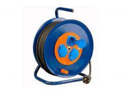 Удлинитель силовой УХз16-003 (метал катушка,АЗ,3 места IP44/50м КГ 3х2,5) SQ1301-0152 TDM