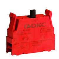 Блок контактный 1НЗ с клеммными зажимами под винт ACVL01 DKC, цена, купить