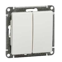 Механизм выключателя 2-кл. СП W59 10А IP20 10АХ бел. SchE VS510-252-1-86 Schneider Electric купить по оптовой цене