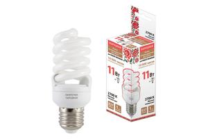 Лампа энергосберегающая (КЛЛ интегрированная) «спираль» d50мм E27 20Вт 180-250В нейтральная холодно-белая 4000К/840 10000ч TDM SQ0347-0011 ELECTRIC купить по оптовой цене