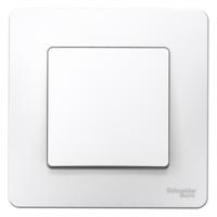 Выключатель 1-кл. СП Blanca 10А IP20 (сх. 1) 250В бел. SchE BLNVS010101 Schneider Electric скрытой установки одноклавишный купить в Москве по низкой цене