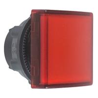 Головка для корпуса со встроен. светодиодом квадратная c плоскими линзами красн. SchE ZB5CV043 Schneider Electric сигнальной лампы 22мм цена, купить