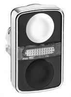 ГОЛОВКА КНОПКИ ДВОЙНАЯ БЕЗ МАРКИР + LED ZB4BW7A1720 | Schneider Electric для цена, купить