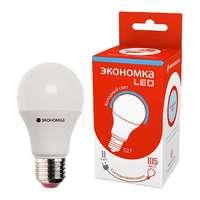 Лампа светодиодная А60 11Вт грушевидная 6500К холод. бел. E27 1000лм 220-240В ЭКОНОМКА Eco_LED11wA60E2765 купить по оптовой цене