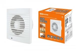 Вентилятор на стену/в канал 15Вт 100м³/ч пластик белый IP34 TDM ELECTRIC SQ1807-0001 купить по оптовой цене