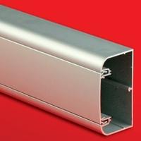 Кабель-канал 110x50мм алюминиевый с крышкой серый металлик 1199 DKC, цена, купить