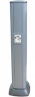 Колонна алюминиевая 0.71м серый металлик RAL 9006 9594 DKC, цена, купить