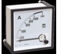 Амперметр Э47 1000/5А кл точн 1,5 96х96мм IPA20-6-1000-E ИЭК