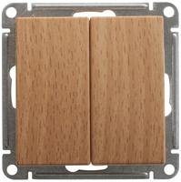 Механизм выключателя 2-кл. W59 10АХ бук SchE VS510-252-8-86 Schneider Electric купить по оптовой цене