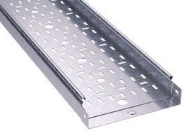 Лоток перфорированный 50х 50х3000х1,0мм, горячеоцинкованный   3526010HDZ DKC (ДКС) листовой L3000 сталь 1мм оцинк толщина цена, купить