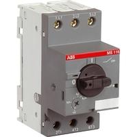 Выключатель автоматический для защиты электродвигателей 0.25-0.4А MS116 управление ручкой 1SAM250000R1003 ABB, цена, купить