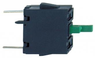 Блок контактов (монтаж. для печатной платы H3) SchE ZBE701 Schneider Electric XB5 Н0 на монтаж НЗ цена, купить