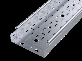 Лоток перфорированный 100х 50х3000х0,6мм | SPL3510 DKC (ДКС) листовой L3000 сталь S3 купить в Москве по низкой цене