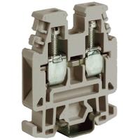 Зажим проходной RP.4/6GR 4 кв.мм серый QUADRO ZRP300GR DKC, цена, купить