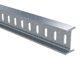 Профиль I-образный 50х100x1600 4.5 мм горячеоцинкованный BPM5016HDZ DKC, цена, купить