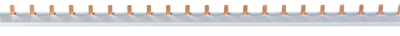 Шина 1-фазная 1000мм шаг 18мм 16мм² 63А изолированная Navigator NBB 71746 купить по оптовой цене