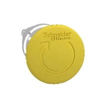 Головка кнопки поворотной желтая грибовидная ZB4BS55 Schneider Electric аварийной остановки 22мм С цена, купить