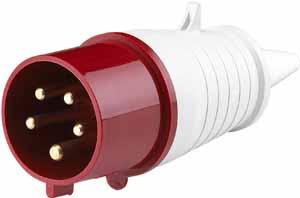 Вилка переносная 025 3Р+РЕ+N 32А 380В IP44 ВП-102   26006DEK DEKraft Schneider Electric купить по оптовой цене