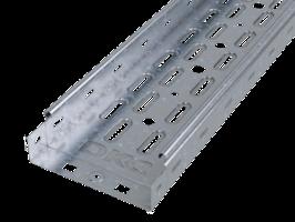 Лоток перфорированный 50х 50х2000х0,7мм   35250 DKC (ДКС) листовой L2000 сталь купить в Москве по низкой цене