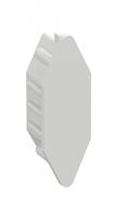 Заглушка торцевая 28I белая 735446 Schneider Electric, цена, купить
