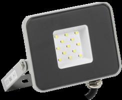 Прожектор светодиодный СДО 07-10 10Вт 6500 IP65 серый | LPDO701-10-K03 IEK (ИЭК)