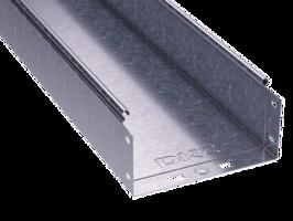 Лоток неперфорированный 100х100х3000х0,7мм   35101 DKC (ДКС) листовой L3000 сталь купить в Москве по низкой цене