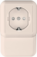 ПРИМА О/У Сл. кость Розетка 1-ая с/з с защитными шторками 16А, плинтусная, монтажная пластина (в сборе) (индивид.упак.) | RA16-003-2M-SI Schneider E Electric купить по оптовой цене