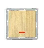 Переключатель 1-кл. СП W59 с индик. без рамки 250В 16АХ сосна SchE VS716-159-7-86 Schneider Electric купить по оптовой цене