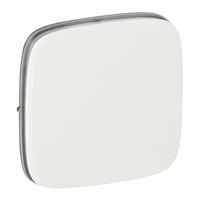 Valena ALLURE.Лицевая панель для переключателя промежуточного.Белая 755075 уп.(5шт.) Legrand купить по оптовой цене