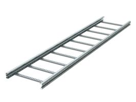 Лоток лестничный 400х80 L3000 сталь 2мм тяжелый (лонжерон) гор. оцинк. DKC ULH384HDZ (ДКС) ДКС 80х3000х2мм 2 мм цена, купить