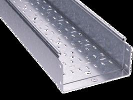 Лоток перфорированный 200х100х3000х1,0мм   3534310 DKC (ДКС) листовой L3000 сталь 1мм толщина купить в Москве по низкой цене