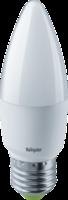 Лампа светодиодная LED 8,5Вт Е27 230В 2700К NLL-C37-8.5-230-2.7K-E27-FR свеча матовая | 61327 Navigator 327 купить в Москве по низкой цене
