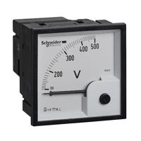 Вольтметр аналоговый 0-500В 72х72 16005RU Schneider Electric, цена, купить