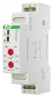 Реле напряжения CP-710 (однофазный; контроль верхнего и нижнего значений монтаж DIN-рейке 35мм; 230В 16А 1P IP20) F&F EA04.009.001 Евроавтоматика ФиФ купить в Москве по низкой цене