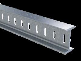 Профиль I-образный 50х100x2300 4.5 мм горячеоцинкованный BPM5023HDZ DKC, цена, купить