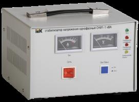 Стабилизатор напряжения 1-фаз. 1000ВА предельно допустимое линейное- 250В 3% IEK IVS10-1-01000* (ИЭК) купить по оптовой цене