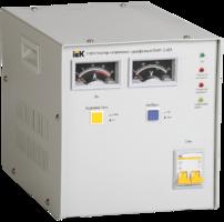 Стабилизатор напряжения 1-фаз. 3000ВА предельно допустимое линейное- 250В 3% IEK IVS10-1-03000* (ИЭК) купить по оптовой цене