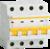 Выключатель автоматический четырехполюсный ВА47-29 16А C 4,5кА | MVA20-4-016-C IEK (ИЭК)