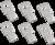 Наконечники для ВА88-32 125А 3Р(комплект 6шт.) | SVA10D-N-3 IEK (ИЭК)