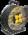 Катушка УК50 на мет с т/з 4 места 2Р+PЕ/50м КГ 3х1,5мм2 IP44 Professional