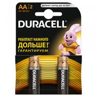 Батарейка Щелочнная (Алкалиновая) (AA) LR6-2BL BASIC CN | Б0026814 81550790 Duracell купить по оптовой цене