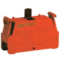 Блок контактный НЗ с клеммным безвинтовым зажимом ACV01 DKC, цена, купить